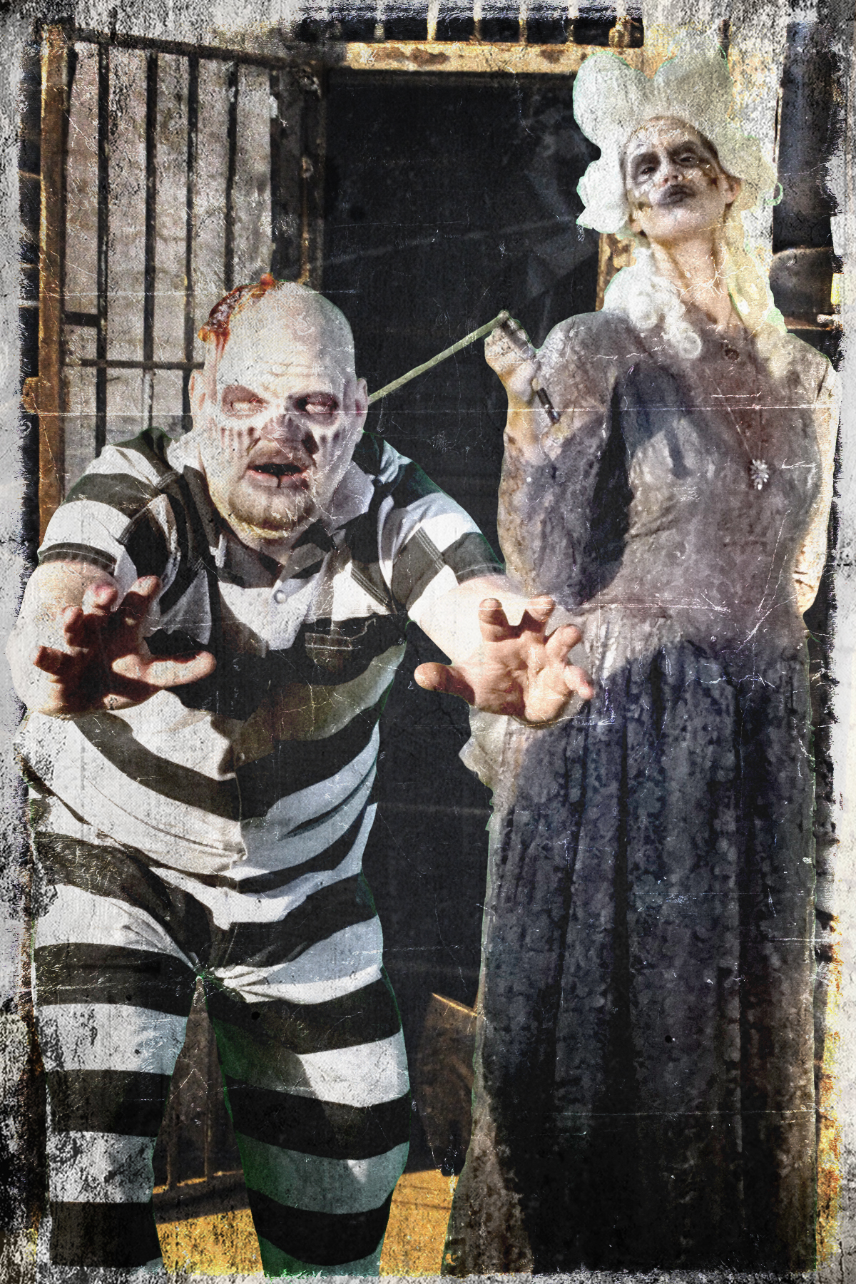 dead inmate, halloween, haunted house, haunted prison, blood prison, ohio state reformatory, mansfield, ohio, ohio haunted houses